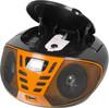 Аудиомагнитола BBK BX193U,  черный и оранжевый вид 3