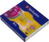 Оптический диск DVD+RW VERBATIM 4.7Гб 4x, 5шт., slim case, разноцветные [43297] вид 1