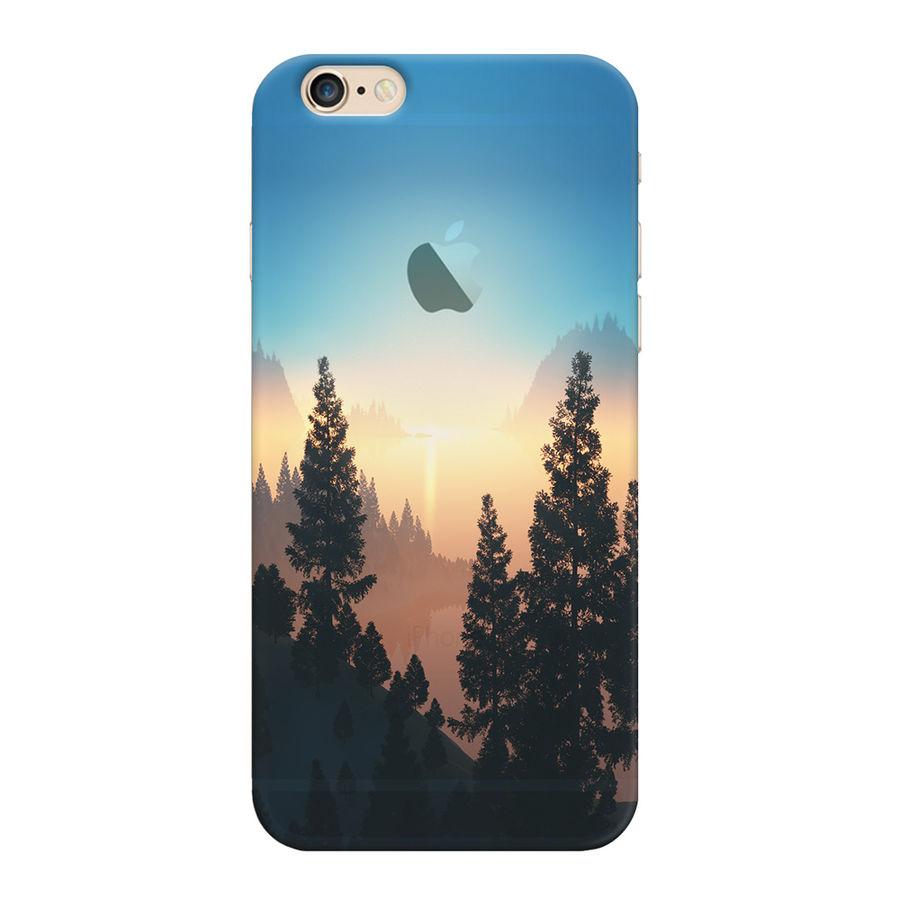 Чехол (клип-кейс) DEPPA Art case Nature Озеро, для Apple iPhone 6/6S, разноцветный [101109]