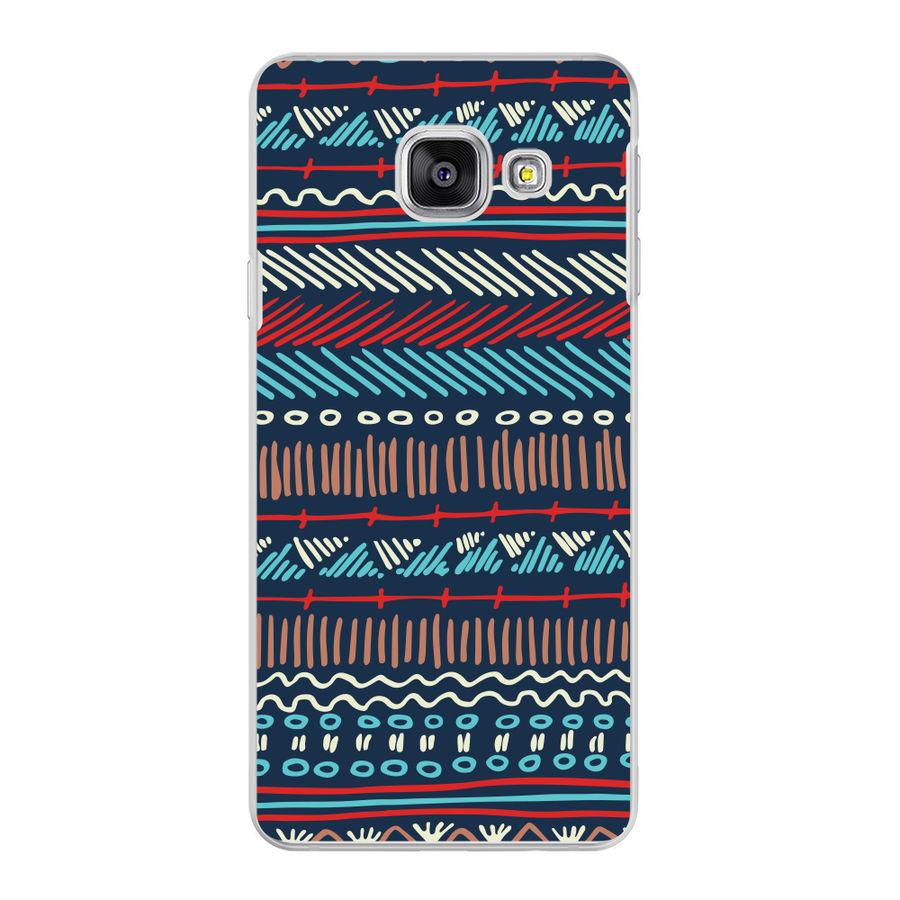 Чехол (клип-кейс) DEPPA Art Case Pattern Темный, для Samsung Galaxy A3 (2016), разноцветный [102039]