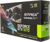 Видеокарта ASUS GeForce GTX 1070,  STRIX-GTX1070-8G-GAMING,  8Гб, GDDR5, OC,  Ret вид 8