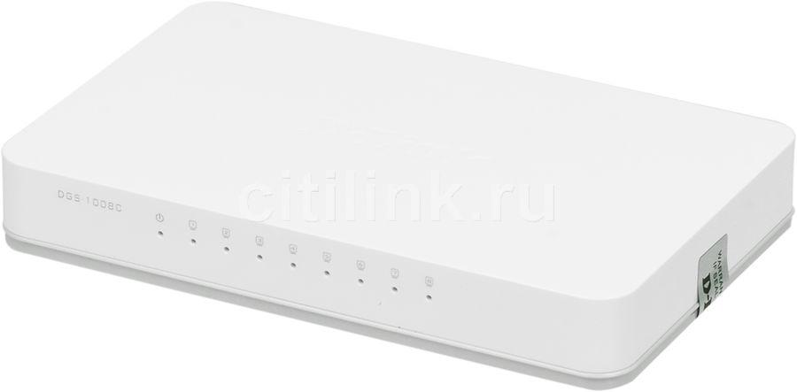 Коммутатор D-LINK DGS-1008C/A1A