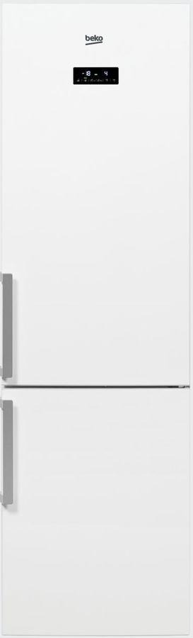 Холодильник BEKO RCNK356E21W,  двухкамерный, белый