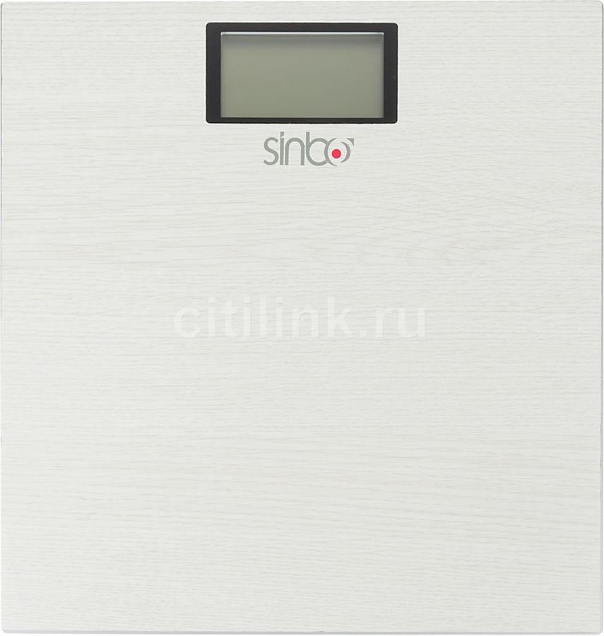 Напольные весы SINBO SBS 4423, до 150кг, цвет: бежевый