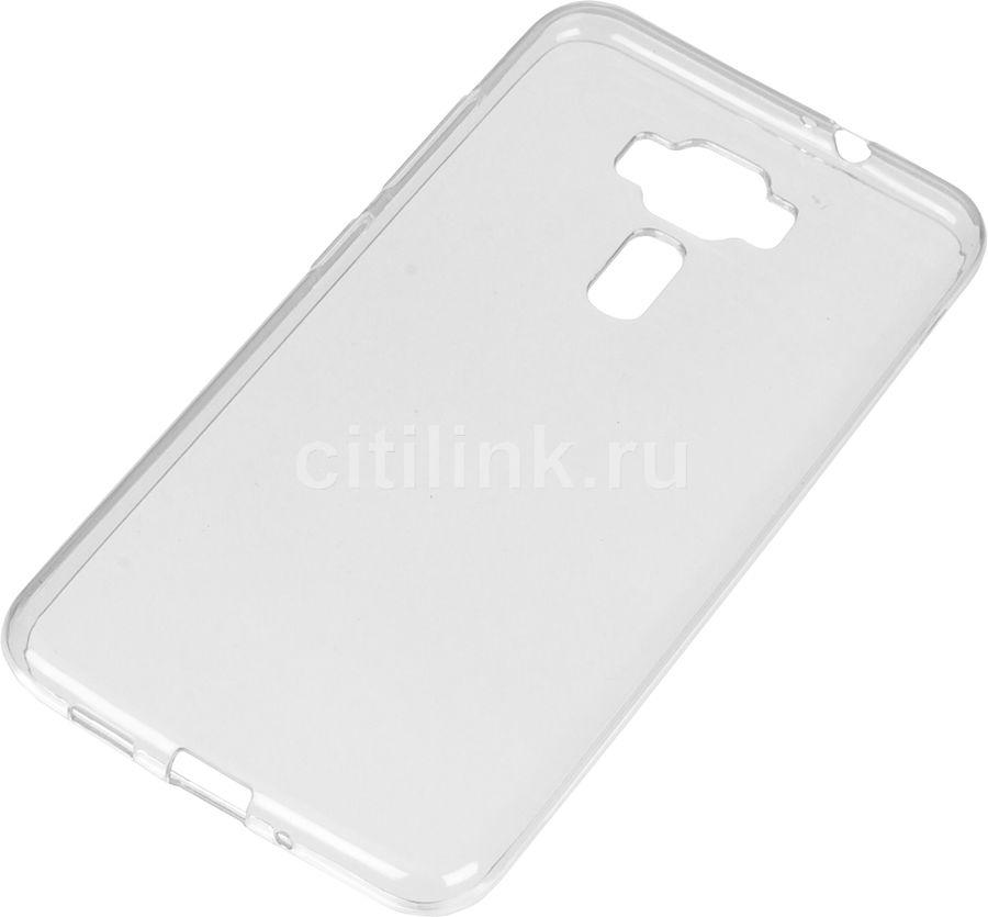 Чехол (клип-кейс) REDLINE iBox Crystal, для Asus ZenFone 3 ZE552KL, прозрачный [ут000009309]