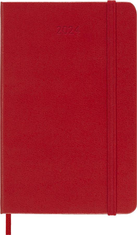 Еженедельник MOLESKINE Classic WKNT,  144стр.,  красный [dhf212wn2]