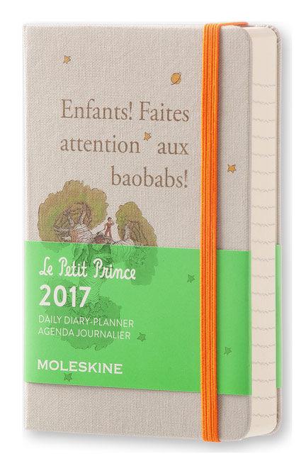 Ежедневник MOLESKINE Limited Edition L' Petit Prince,  400стр.,  желтый [dpp12dc2]