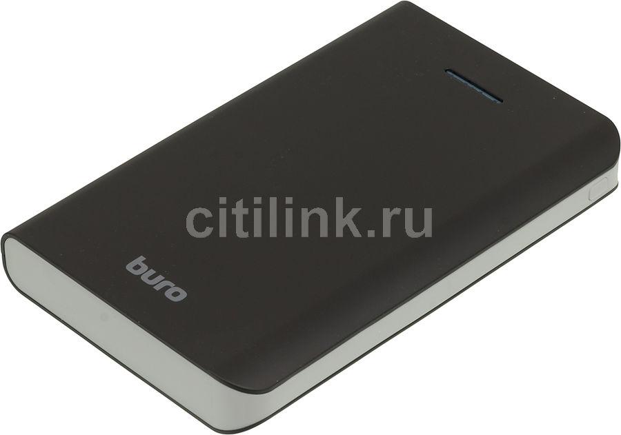 Внешний аккумулятор BURO RA-25000,  25000мAч,  черный