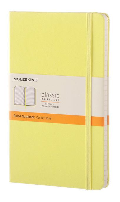 Блокнот Moleskine CLASSIC Large 130х210мм 240стр. линейка твердая обложка желтый цитрон