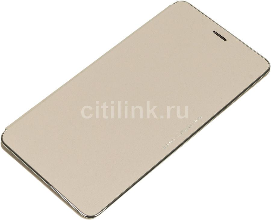 Чехол (флип-кейс) ASUS Folio Cover, для Asus ZenFone 3 Ultra ZU680KL, золотистый [90ac01i0-bcv002]