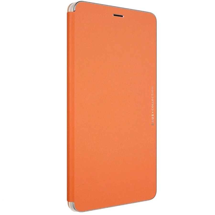 Чехол (флип-кейс) ASUS Folio Cover, для Asus ZenFone ZU680KL, оранжевый [90ac01i0-bcv003]