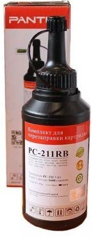 Тонер PANTUM PC-211RB,  для Series P2200/2500/M6500/6550/6600,  черный, флакон