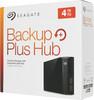 Внешний жесткий диск SEAGATE Backup Plus Hub STEL4000200, 4Тб, черный вид 7