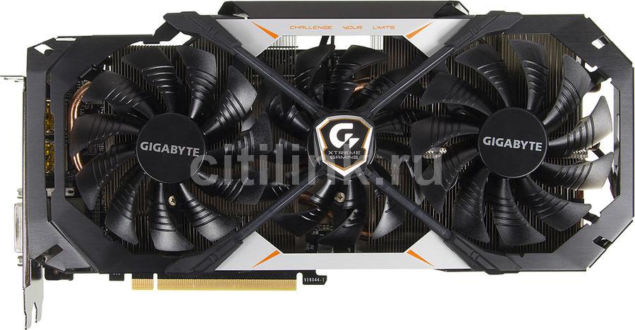 Видеокарта GIGABYTE GeForce GTX 1070,  GV-N1070XTREME-8GD,  8Гб, GDDR5, OC,  Ret