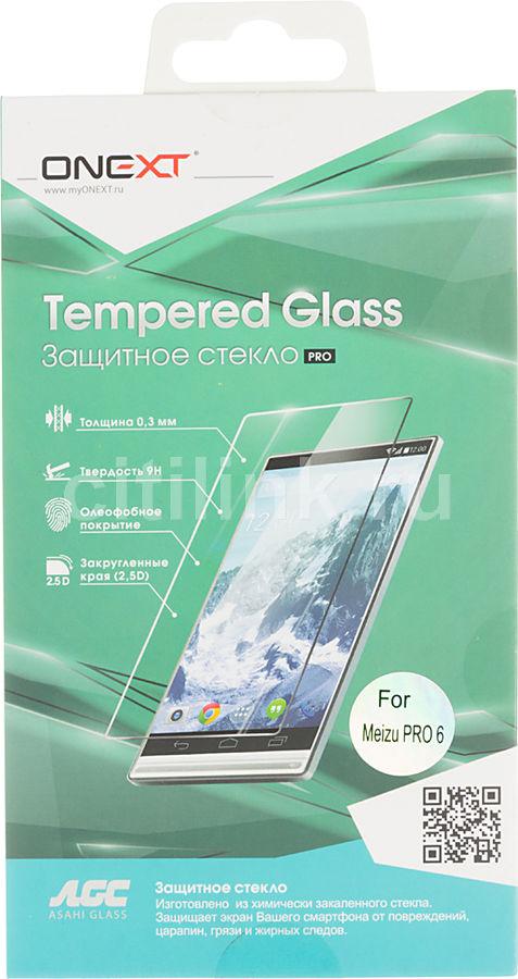 Защитное стекло ONEXT для Meizu Pro 6,  1 шт [41081]