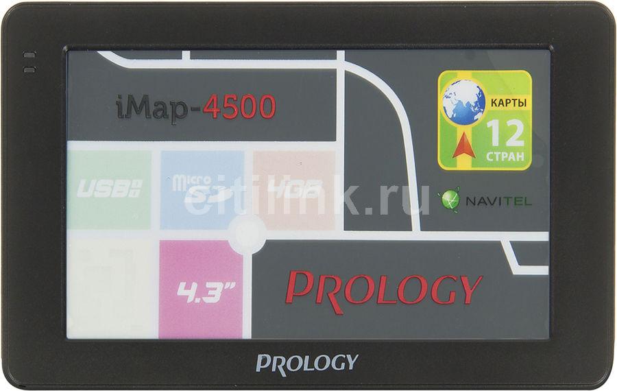 GPS навигатор PROLOGY iMAP-4500,  4.3