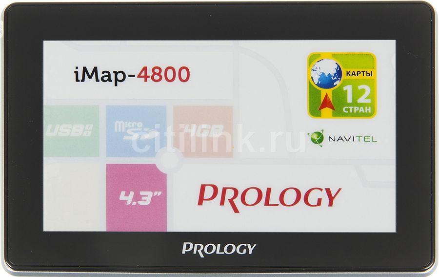 GPS навигатор PROLOGY iMAP-4800,  4.3