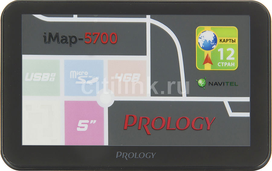 GPS навигатор PROLOGY iMAP-5700,  5
