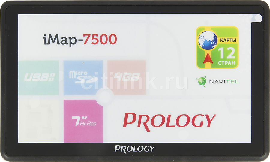 GPS навигатор PROLOGY iMAP-7500,  7