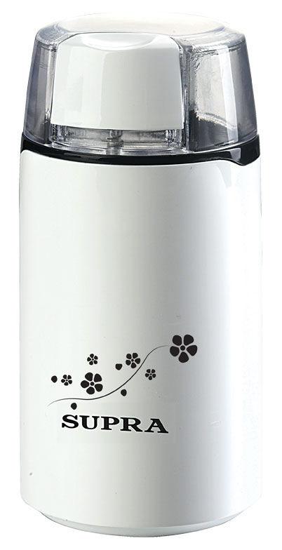 Кофемолка SUPRA CGS-120,  белый [10567]
