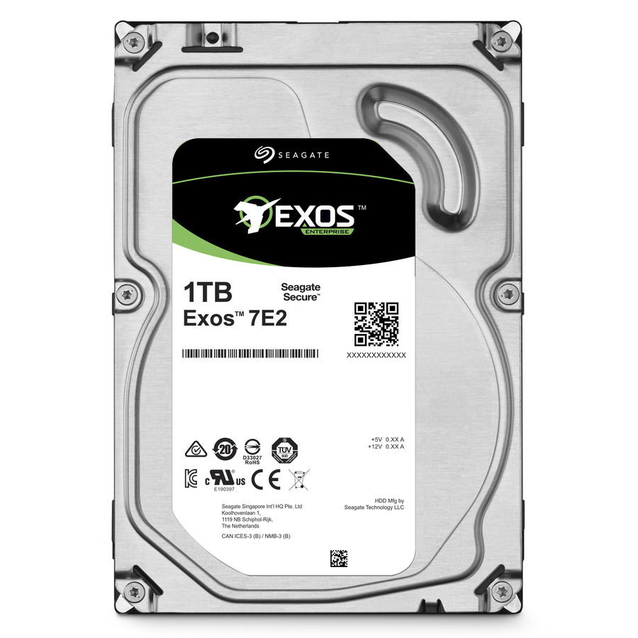 Жесткий диск SEAGATE Enterprise Capacity ST1000NM0045, 1Тб, HDD, SAS 3.0, 3.5 hdd диск