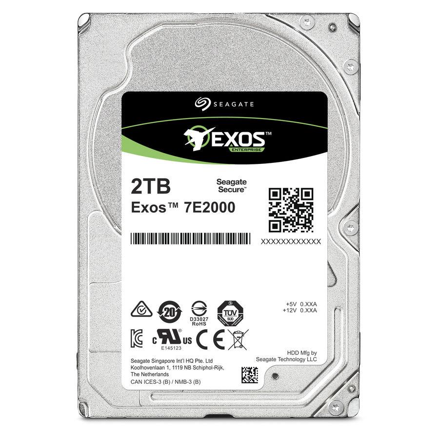"Жесткий диск SEAGATE Enterprise Capacity ST2000NX0253,  2Тб,  HDD,  SATA III,  2.5"""