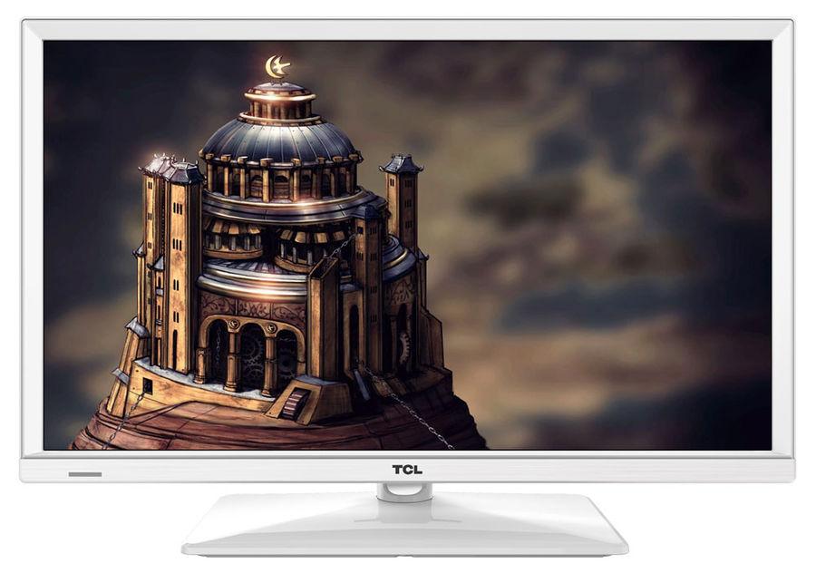 """LED телевизор TCL LED24D2710W  """"R"""", 24"""", HD READY (720p),  белый"""
