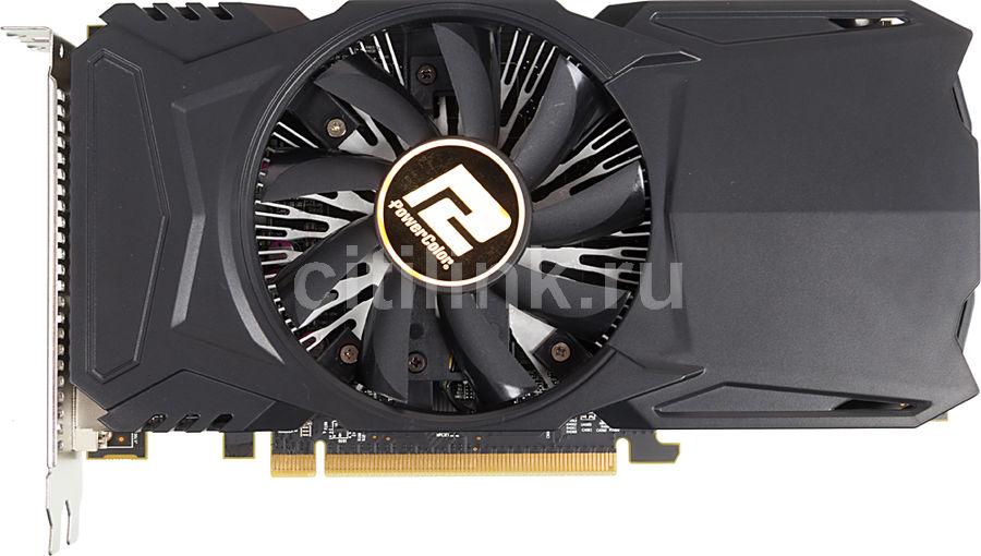 Видеокарта POWERCOLOR Radeon RX 460,  AXRX 460 2GBD5-DH/OC,  2Гб, GDDR5, OC,  Ret