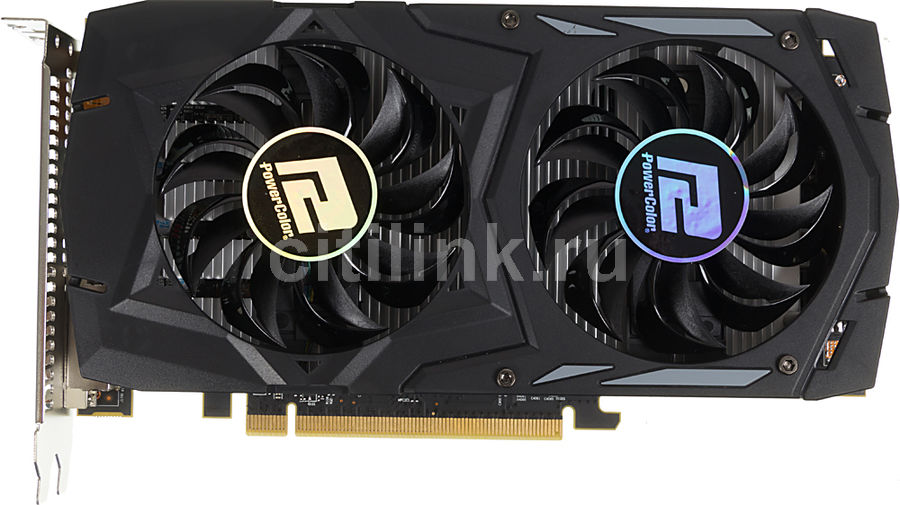 Видеокарта POWERCOLOR Radeon RX 460,  AXRX460 4GBD5-DHV2/OC,  4Гб, GDDR5, OC,  Ret