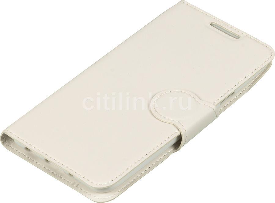 Чехол (флип-кейс) REDLINE iBox Premium, для LG X Style, белый [ут000009124]