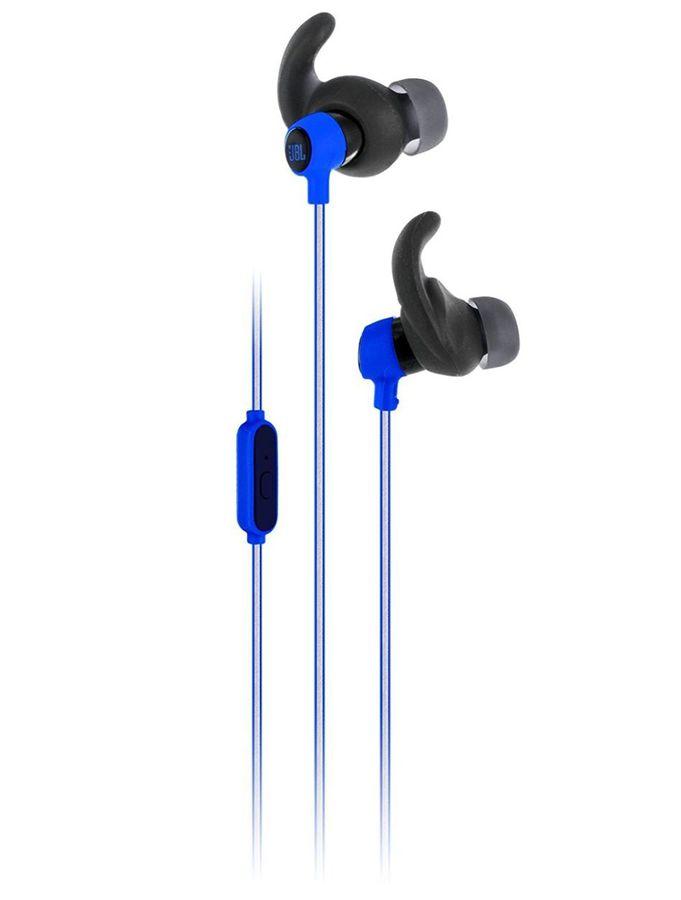 Гарнитура JBL Reflect Mini, вкладыши,  синий, проводные