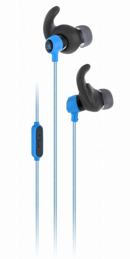 Гарнитура JBL Reflect Mini, вкладыши,  голубой, проводные