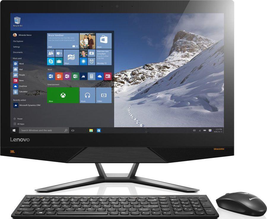 Моноблок LENOVO 700-24ISH, Intel Core i7 6700, 16Гб, 1000Гб, 128Гб SSD,  nVIDIA GeForce GTX 950A - 4096 Мб, Windows 10, черный [f0be00fjrk]