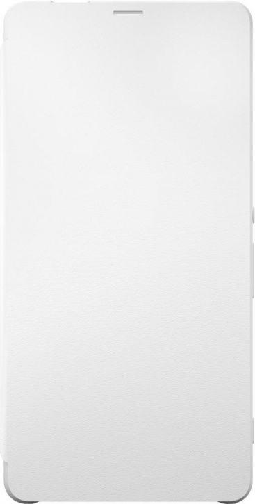Чехол (флип-кейс) SONY Flip Cover, для Sony Xperia XA Ultra, белый [scr60 white]