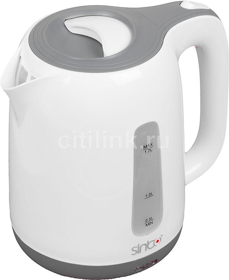 Чайник электрический SINBO SK 7358, 2200Вт, слоновая кость