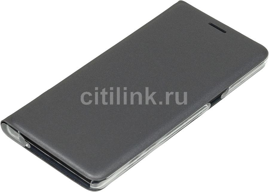 Чехол (флип-кейс) SAMSUNG LED View Cover, для Samsung Galaxy Note 7, черный [ef-nn930pbegru]