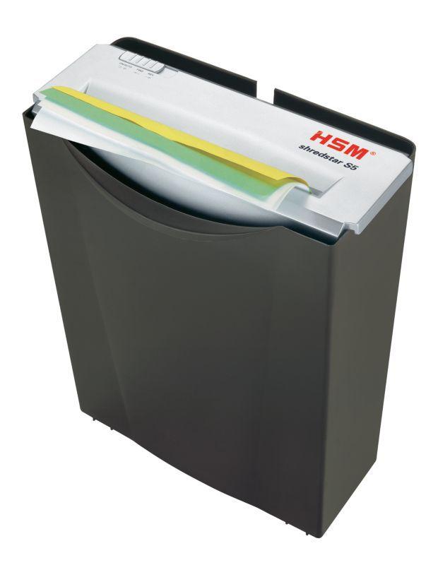 Уничтожитель бумаг HSM ShredStar S5,  уровень 2,  P-2,  6мм [1041.111]
