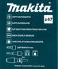 Набор принадлежностей MAKITA B-36170,  47 предметов вид 5
