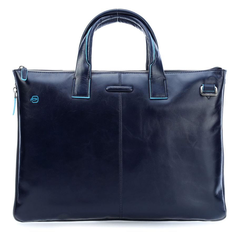 Сумка для ноутбука Piquadro Blue Square CA4021B2/BLU2 синий натур.кожа