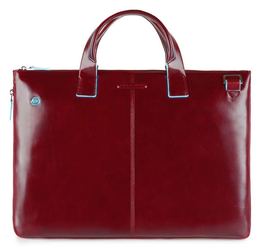 Сумка для ноутбука Piquadro Blue Square CA4021B2/R красный натур.кожа