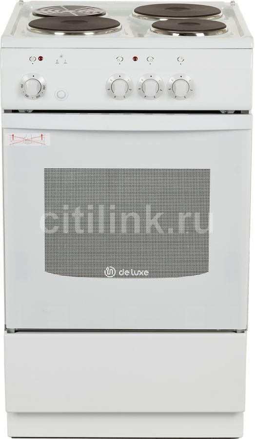 Электрическая плита DE LUXE 5003.17Э,  эмаль,  белый