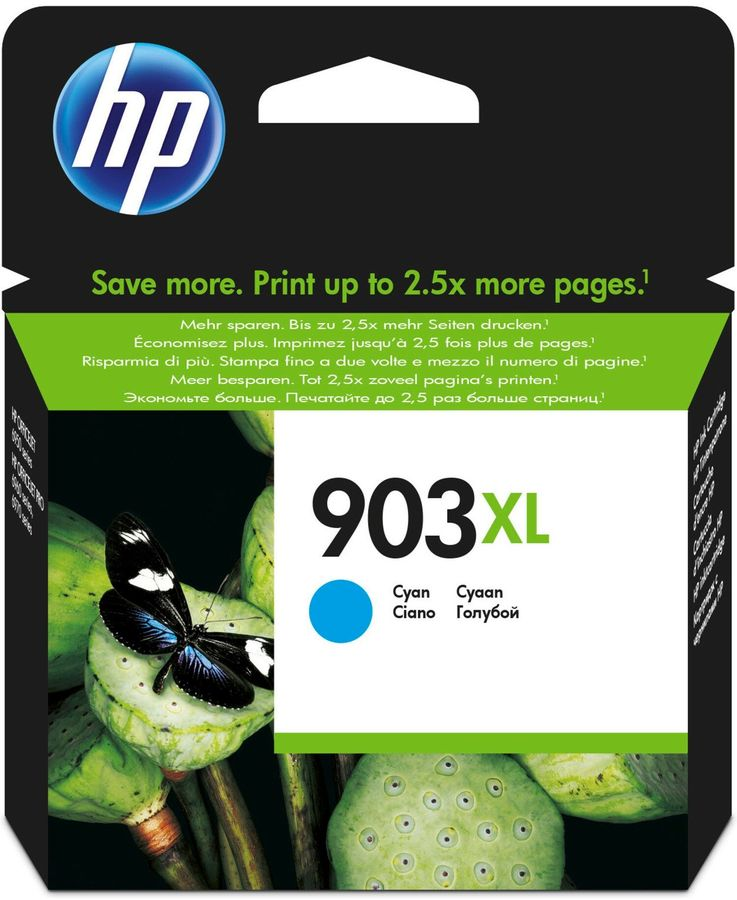 Картридж HP 903XL голубой [t6m03ae]