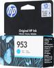 Картридж HP 953, голубой [f6u12ae] вид 3