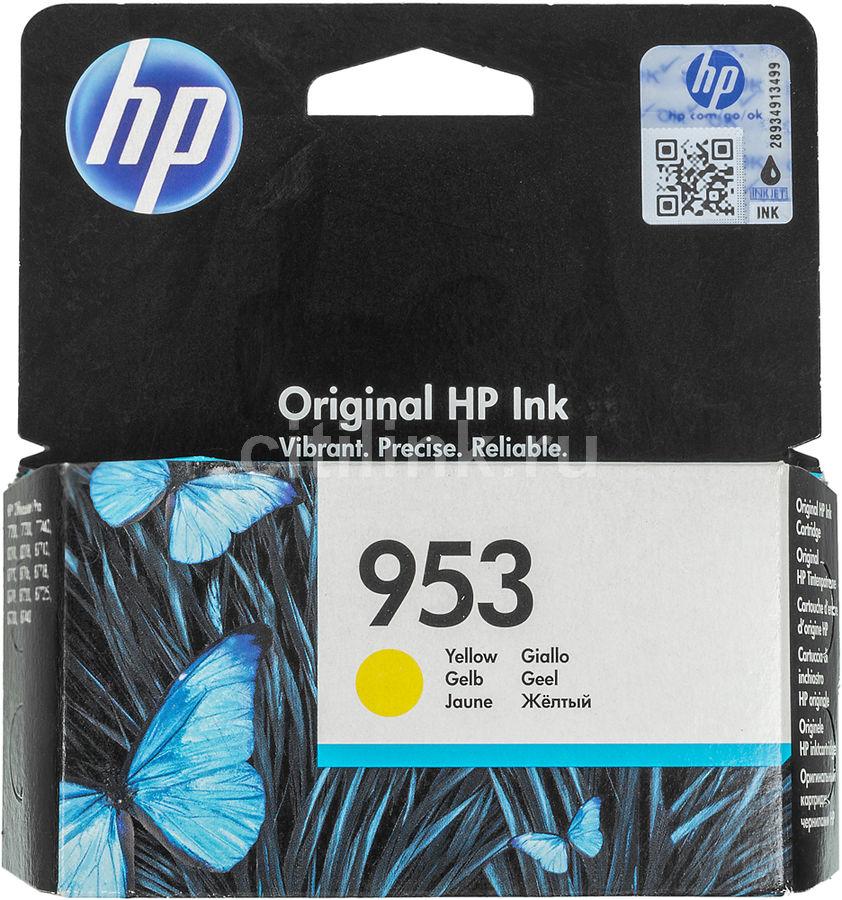 Картридж HP 953 желтый [f6u14ae]