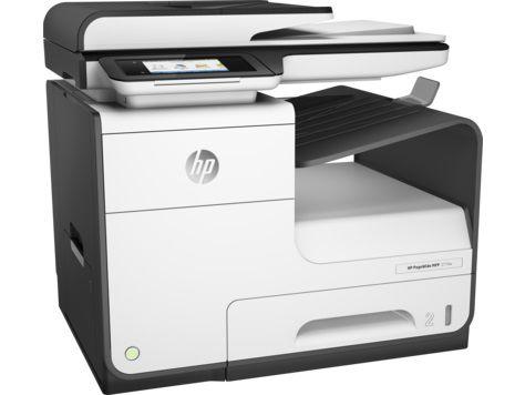 МФУ струйный HP PageWide 377dw, A4, цветной, струйный, черный [j9v80b]