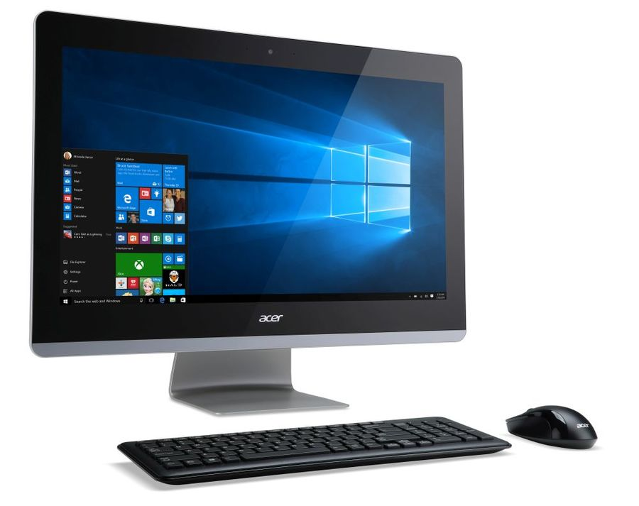 Моноблок ACER Aspire Z3-711, Intel Core i3 5005U, 6Гб, 1Тб, Intel HD Graphics 5500, DVD-RW, Windows 10 Home, черный [dq.b3ner.003]