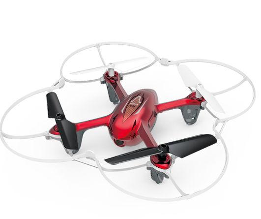 Квадрокоптер SYMA X11C, с камерой, красный [x11c red]
