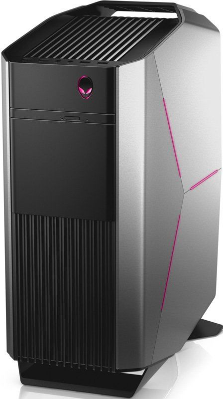 Компьютер  DELL Alienware Aurora,  Intel  Core i7  6700,  DDR4 16Гб, 2Тб,  256Гб(SSD),  nVIDIA GeForce GTX1070 - 8192 Мб,  Windows 10 Home,  черный и серебристый [r5-8834]