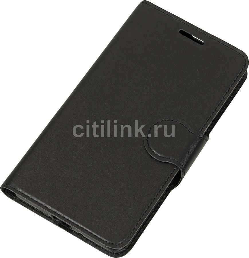Чехол (флип-кейс) REDLINE Book Type, для Xiaomi Redmi 3/3 Pro, черный [ут000009071]