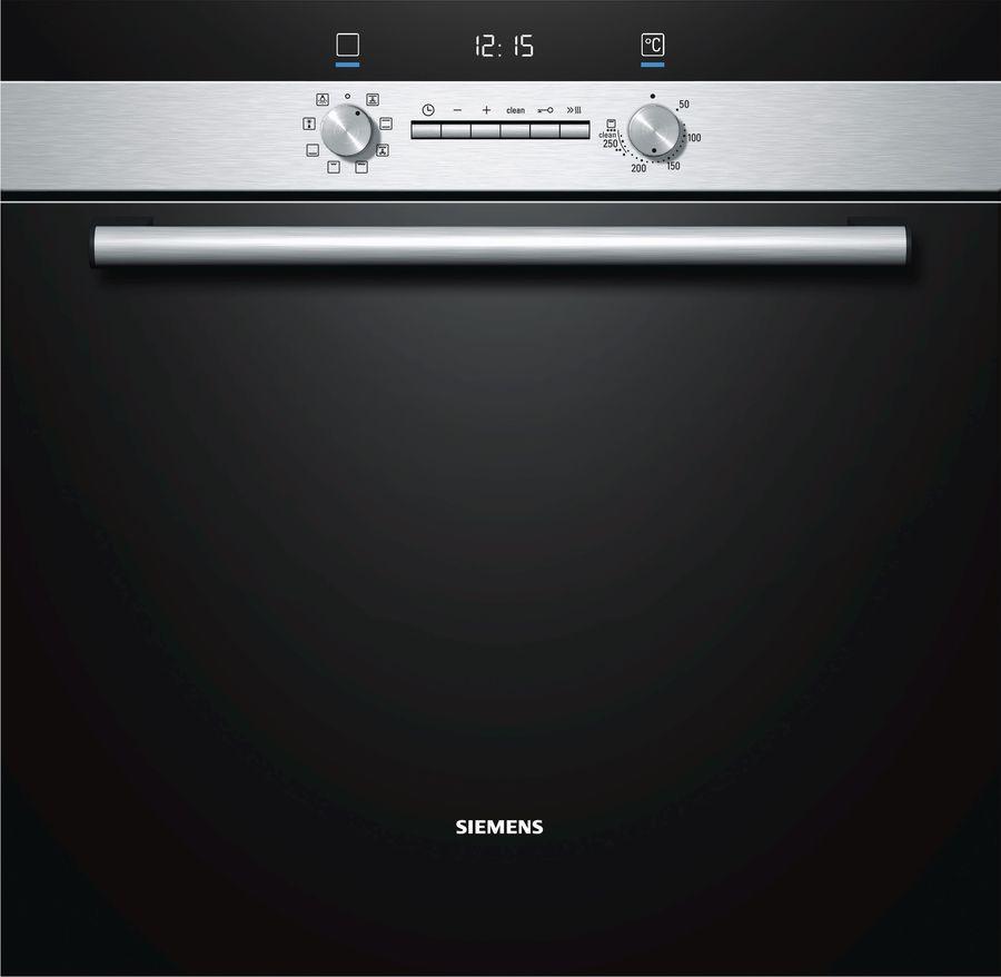 Духовой шкаф SIEMENS HB43GS555,  черный